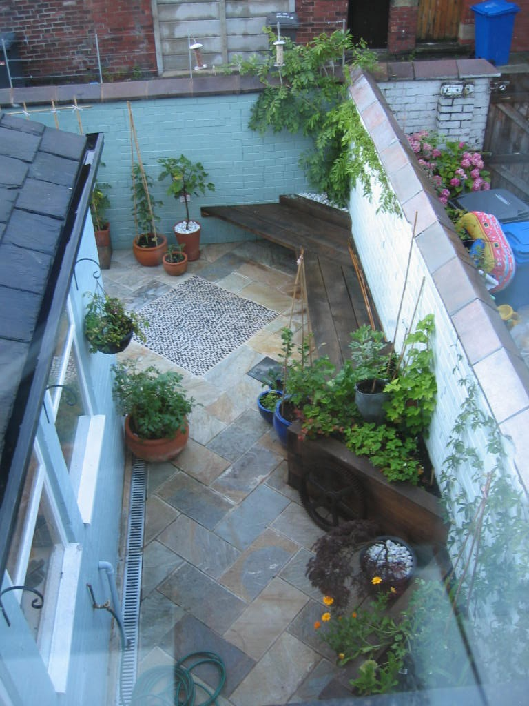 Design And Build Of Small Back Garden For A Victorian House Reuben Kyte