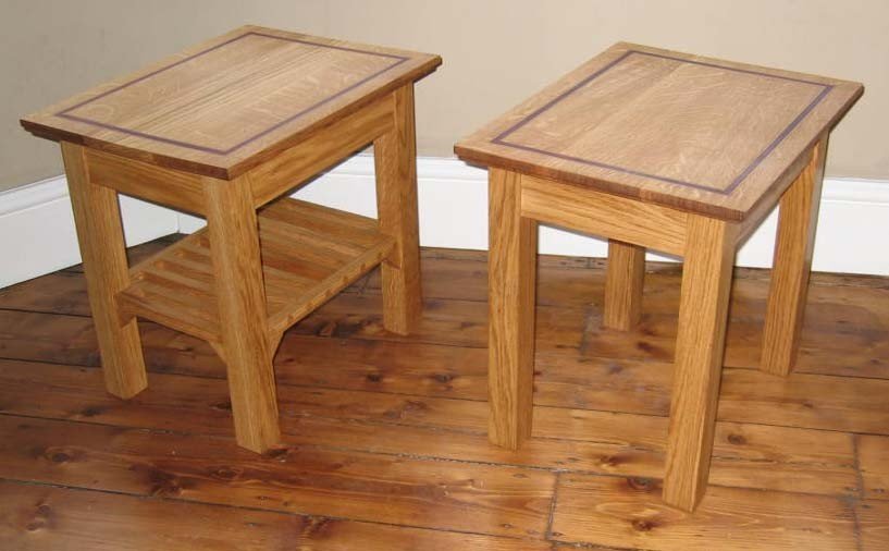 oak side tables for living room. oak side tables 05  Solid with inlay Reuben Kyte